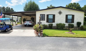 Lots of storage and space in this 2 bedroom 2 bath home in Swiss Golf & Tennis